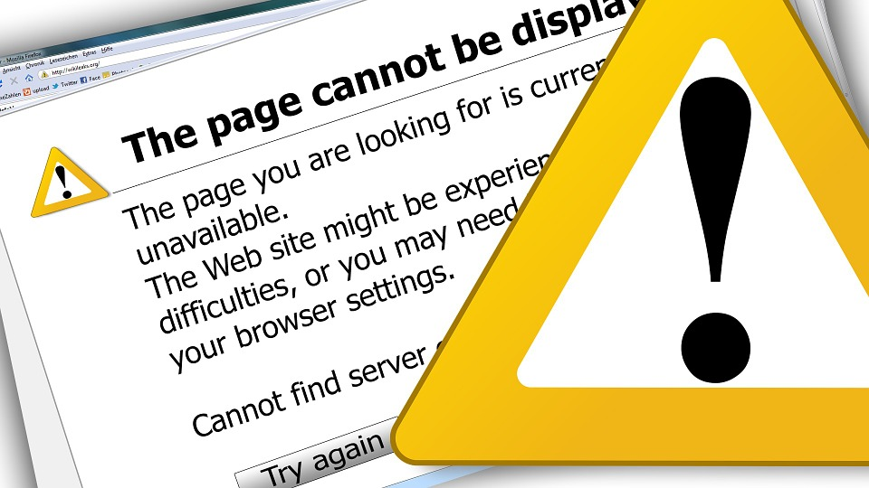 site error prevention small business seo
